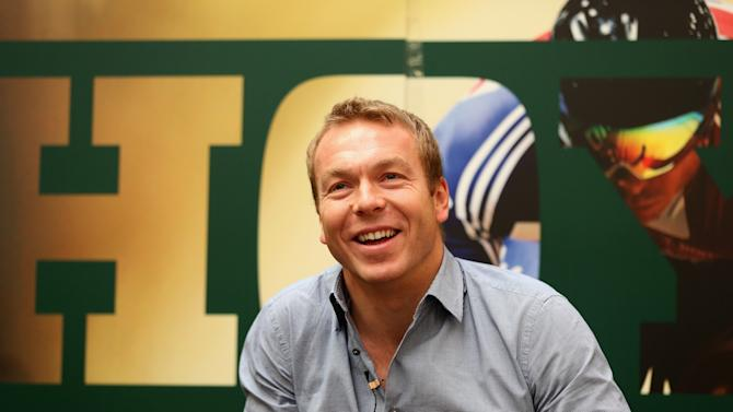 Chris Hoy Press Conference