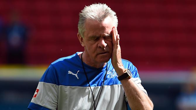 World Cup - Switzerland coach Hitzfeld rocked by brother's death and loss