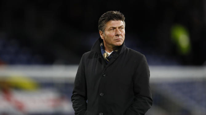 Watford manager Walter Mazzarri before the match