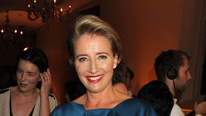Emma Thompson Bazaar Evnt
