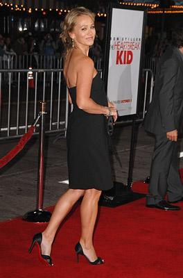 Christine Taylor at the Los Angeles premiere of DreamWorks Pictures' The Heartbreak Kid