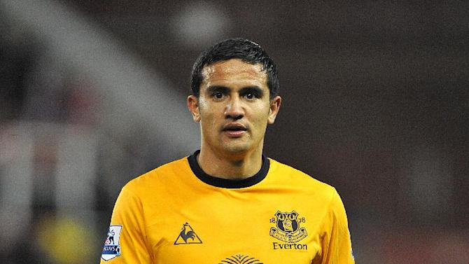 Everton are set to replace Tim Cahill with Steven Pienaar