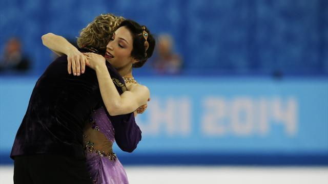 Figure Skating - Davis and White win gold in ice dance