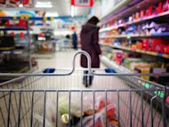 Does Your Ticketing System Hamper Your Retail Business? image Grocery aisle from shopping cart 300x225