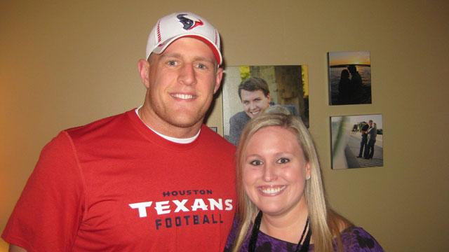 Texans' Lineman JJ Watt Surprises Newlywed Fans