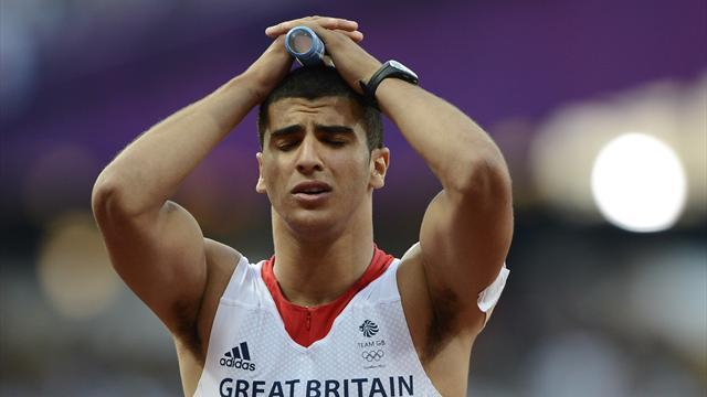 Athletics - Gemili misses out on 100m spot, Ennis included