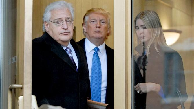 Donald Trump's Pick for US Ambassador to Israel Signals Changes in US Policy