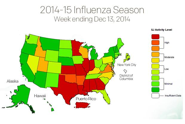 Flu outbreak spreading rapidly in U.S.