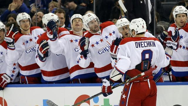 Ice Hockey - Ovechkin sees Capitals past Islanders