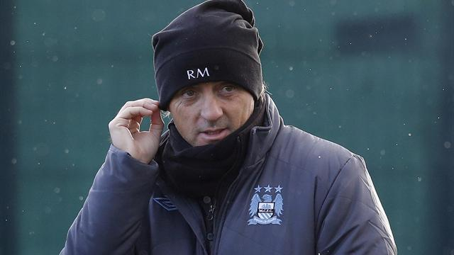 Premier League - Mancini loses his cool over Pellegrini talk