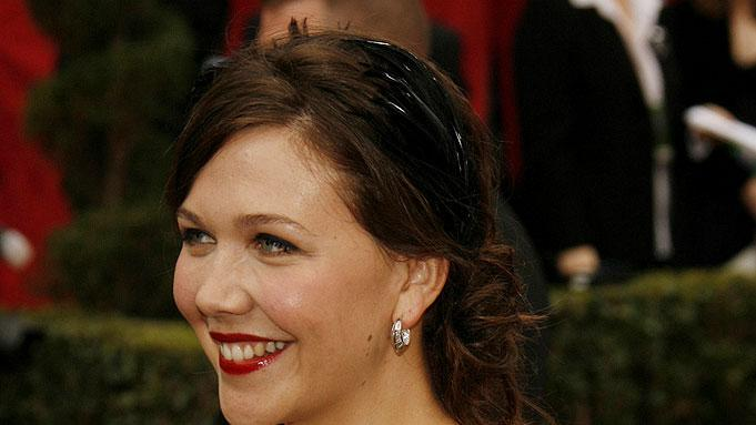 Maggie Gyllenhaal at The 79th Annual Academy Awards.