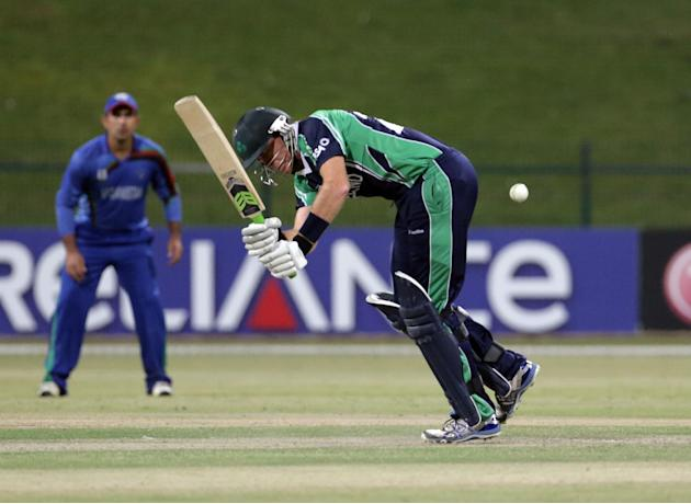 ICC World Twenty20 Qualifier - Final - Ireland v Afghanistan