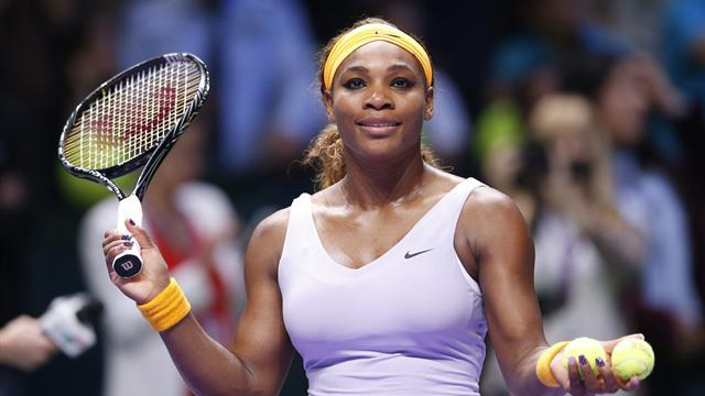Tennis - Serena powers to second win in Istanbul, Jankovic shines