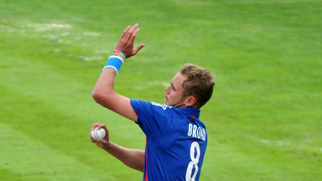 Cricket - Broad comes through bowling session
