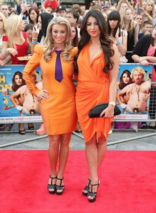 TOWIE's Cara Kilbey And Billi Mucklow Turn Into Oompa Loompas For Keith Lemon