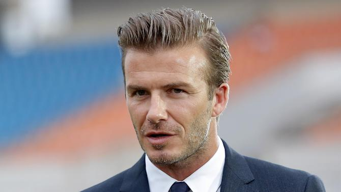 World Cup - Beckham 'excited' by England's youthful talent
