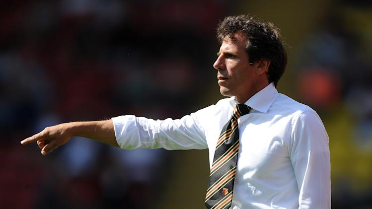 Gianfranco Zola's Watford continued their recent good form with a 2-1 win over Wolves