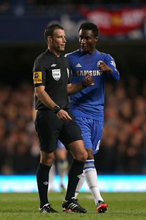 Mark Clattenburg, left, could now face a police investigation into his conduct