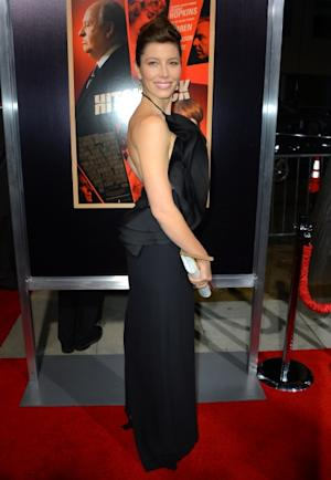 Jessica Biel arrives at the premiere of 'Hitchcock' in Beverly Hills, Calif. on November 20, 2012 -- Getty Images