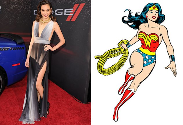 Gal Gadot is your new Wonder Woman.