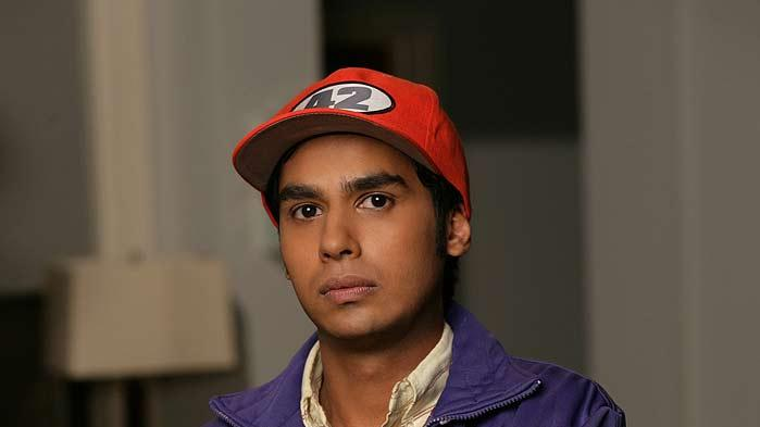 Kunal Nayyar stars as Kothrappali in The Big Bang Theory.