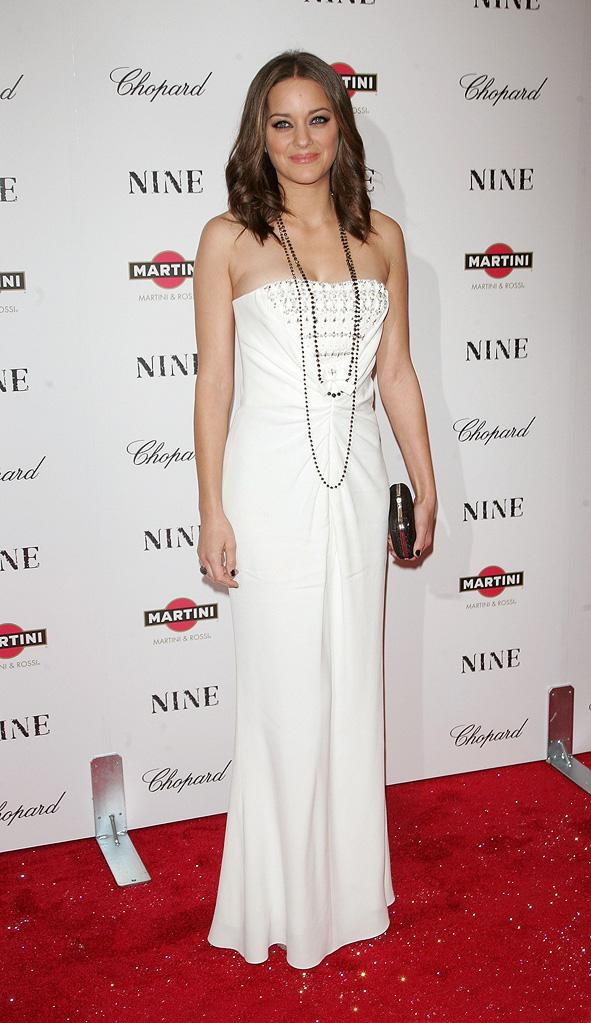 Nine NY Screening 2009 Marion Cotillard