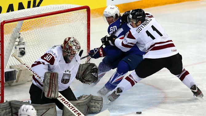Latvia v France - 2013 IIHF Ice Hockey World Championship