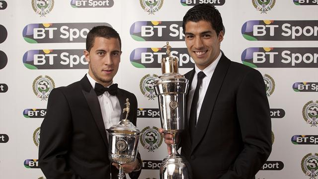 Premier League - Suarez named PFA Player of the Year