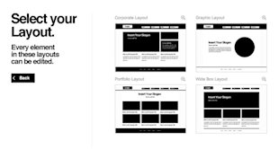 Coding Not Required – Revolutionizing Professional Web Design with Webydo image Webydo wireframe templates