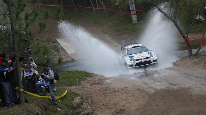 WRC - Ogier takes early lead in Poland