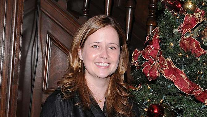 Jenna Fischer NBC Holiday Party