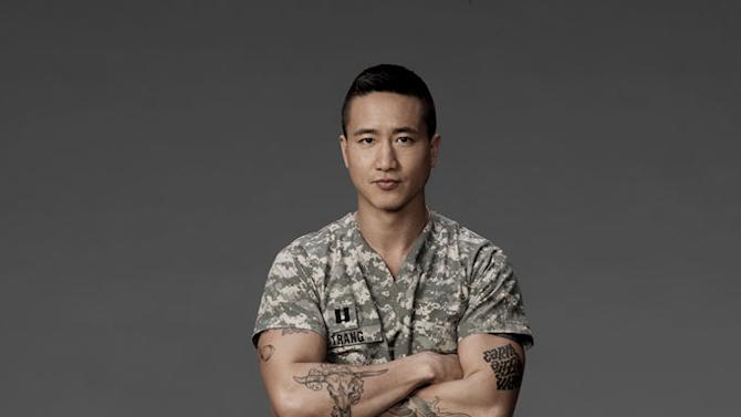 """Terry Chen stars as Captain Bobby Trang in """"Combat Hospital."""""""