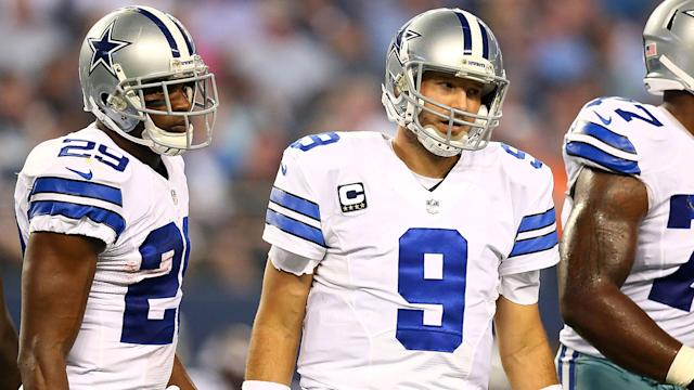 Will Tony Romo crumble with banged up running game?