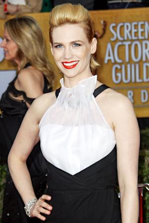 """January Jones: """"My Hair Is Falling Out in Clumps"""""""