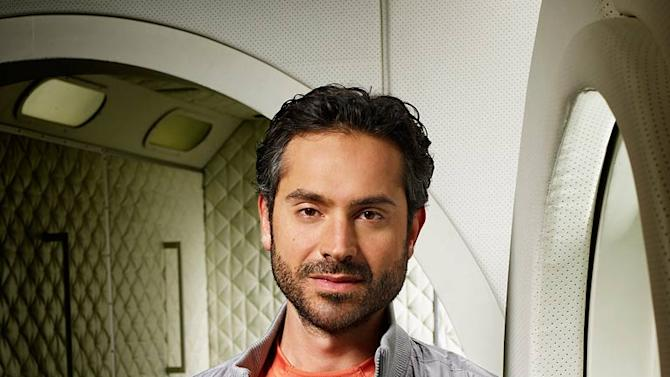 """Omar Metwally as Dr. Adin Meyer in """"Virtuality."""""""