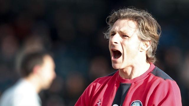 Football - Ainsworth hails victorious Wycombe