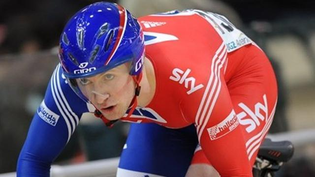 Cycling - Kenny takes silver at track cycling World Cup