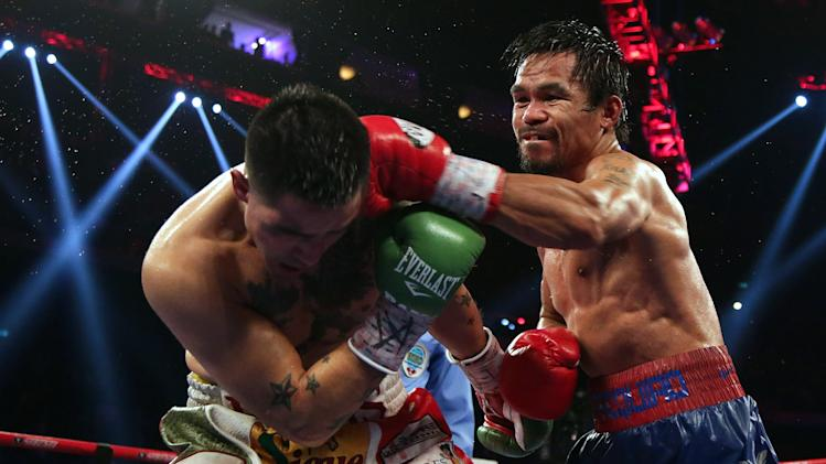 Manny Pacquaio v Brandon Rios - The Clash In Cotai