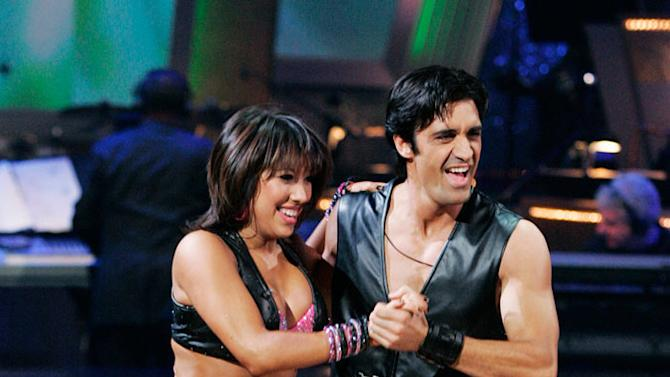 """Gilles Marini and Cheryl Burke perform the Jive to """"Dance, Dance"""" by Fall Out Boy on """"Dancing with the Stars."""""""