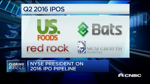 NYSE President: What's next for IPOs