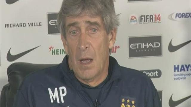 Football - Pellegrini hails Aguero influence