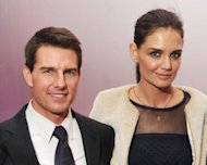 Tom Cruise and Katie Holmes are pictured during the 'Mission: Impossible - Ghost Protocol' US premiere after-party at the Museum of Modern Art, in December 2011, in New York. Cruise and Holmes announced on Friday they were calling it quits after five years of marriage, ending an unexpected love story dogged by tabloid rumors
