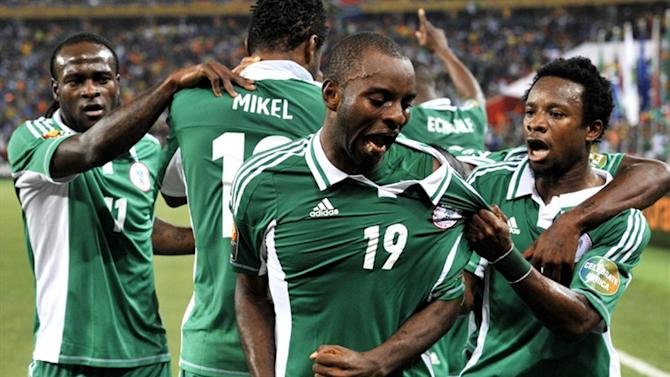 World Cup - Nations Cup hero Mba dropped from Nigeria squad