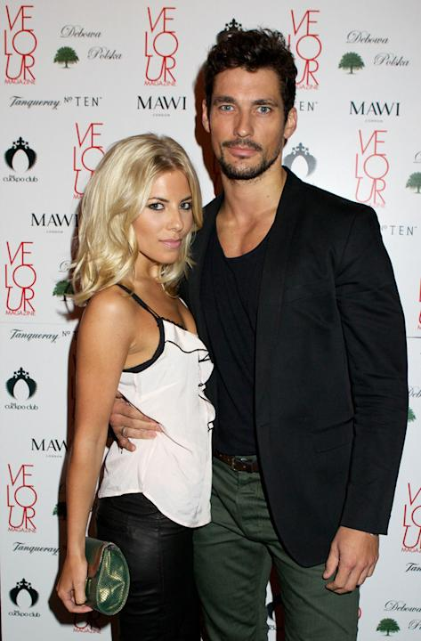 Celebrity splits 2012: The Saturdays' Mollie King and her model boyfriend David Gandy were one of the prettiest celeb couples of all time. However, they ended their relationship after nine months citi
