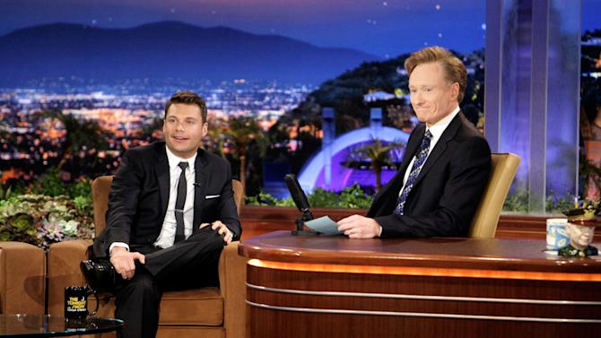 Seacrest Ryan O Brien Tonight Show