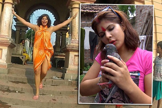 Indira Weis will als Bollywood-Star durchstarten (Bilder: VOX / Privatfotos)