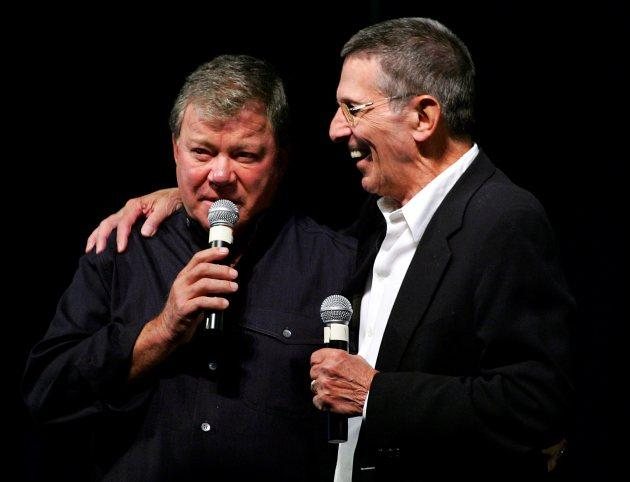 William Shatner Feels 'Awful' He's Unable To Attend Leonard Nimoy's Funeral