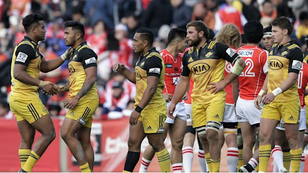 Champions Hurricanes break new ground against sorry Sunwolves, Crusaders up and running