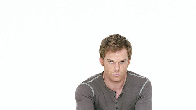 """<a href=""""/baselineperson/4426701"""">Michael C. Hall</a> as Dexter in """"Dexter."""""""