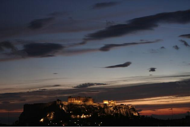 Travel Parthenon Acropolis Hill Athens Greece